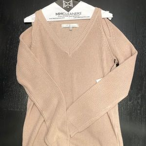 Lovers & Friends blush pink knit sweater